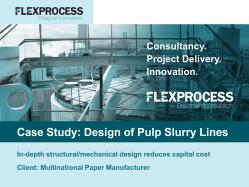 Flex Process Case Study_Pulp lines
