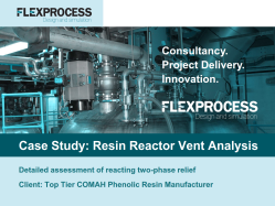Flex Process Case Study_Resin Vent System