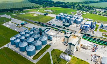 Production,Of,Sustainable,Fuel,Called,Bio,Gas.,New,Factory,In