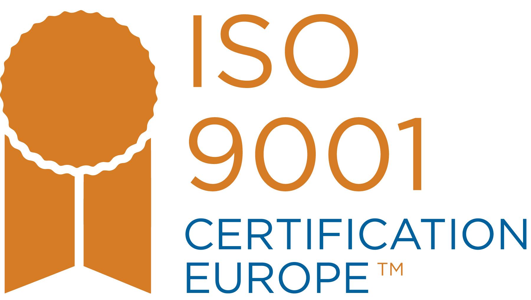 ISO 9001 quality cert